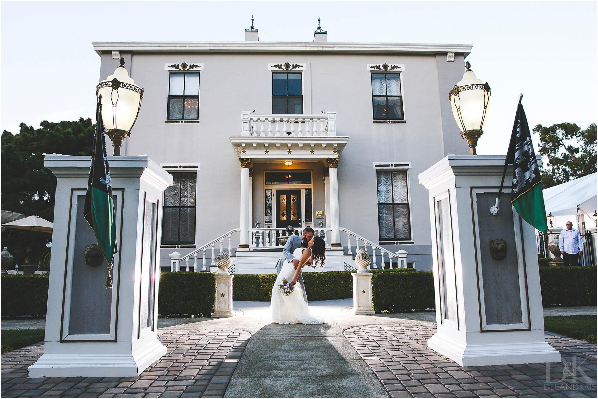 Jefferson street mansion wedding