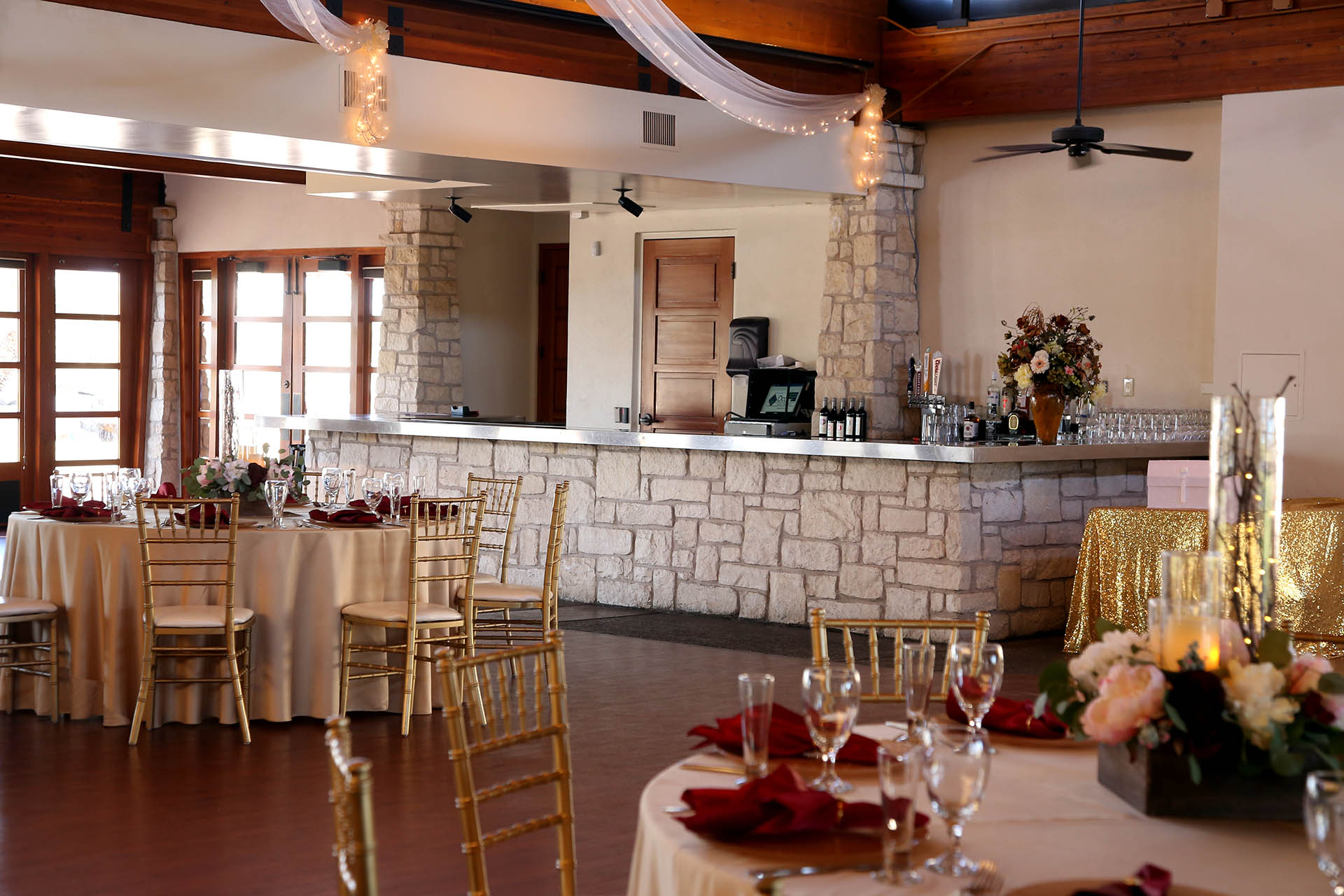 Built In Bar For Weddings And Special Events Wedgewood Ocotillo