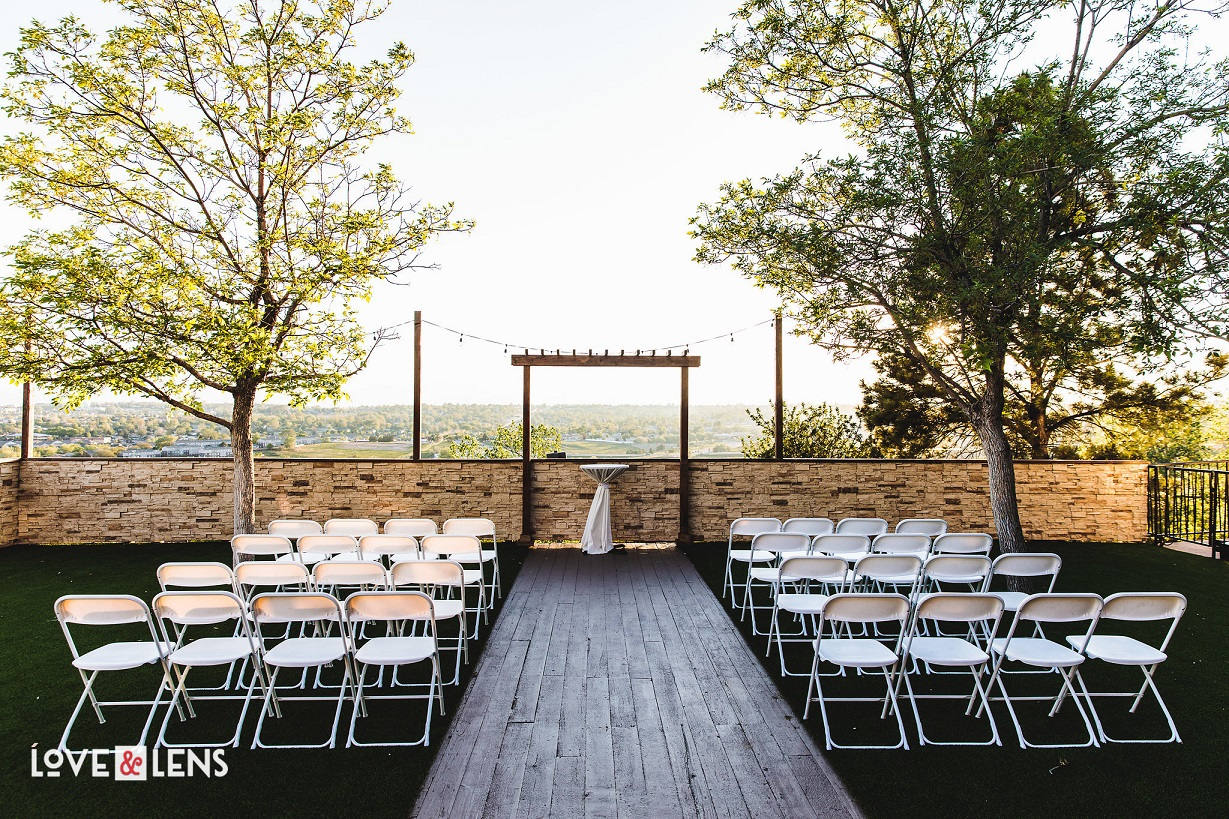 Ceremonies come with a view at Wedgewood Weddings Brittany Hill