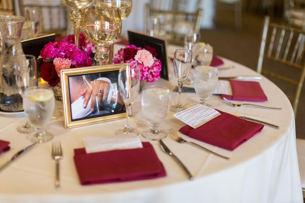 Tasteful Trendy Wedding Reception Table Settings