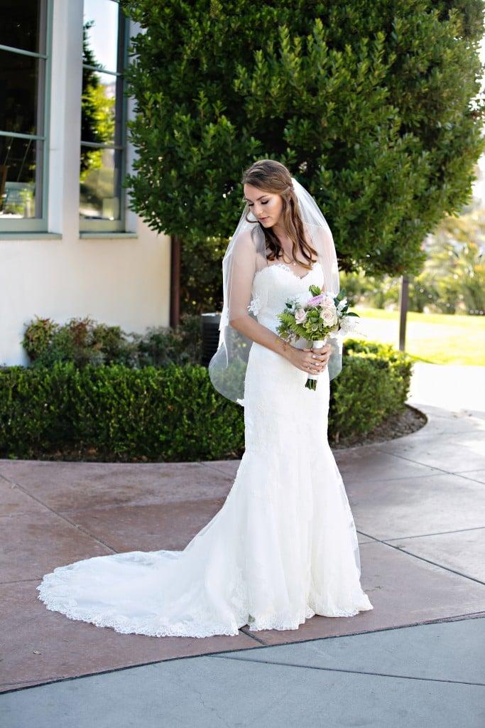beautiful bride at Wedgewood Weddings