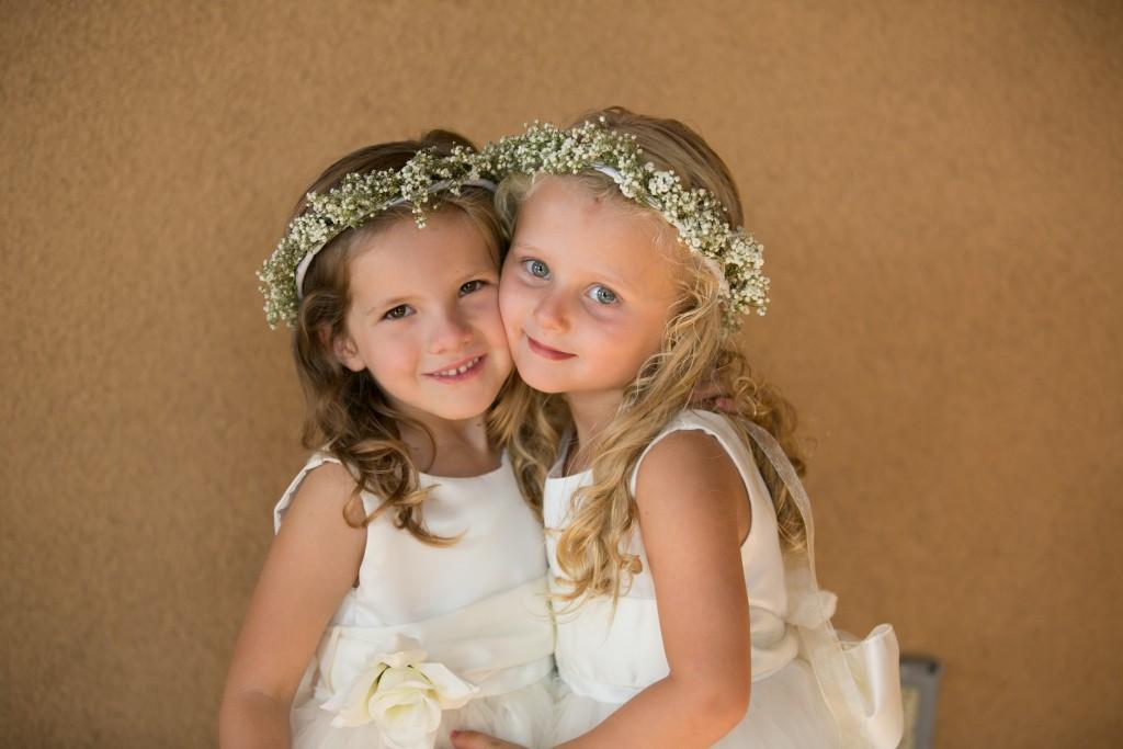 Wedgewood Weddings flower girls beautiful flower crowns