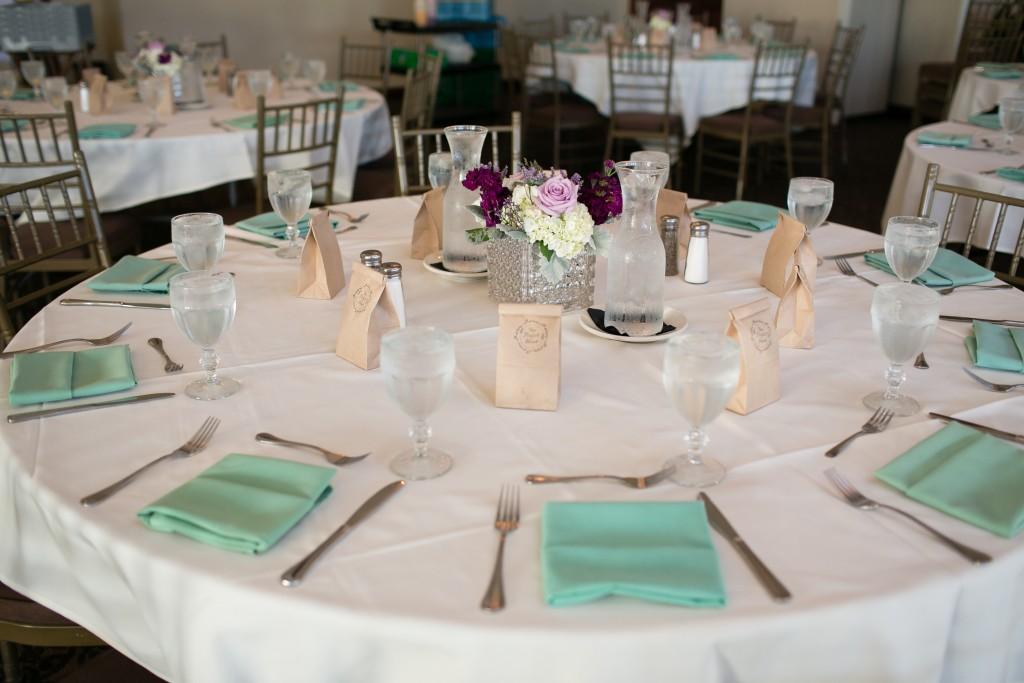 Wedgewood Weddings table linens