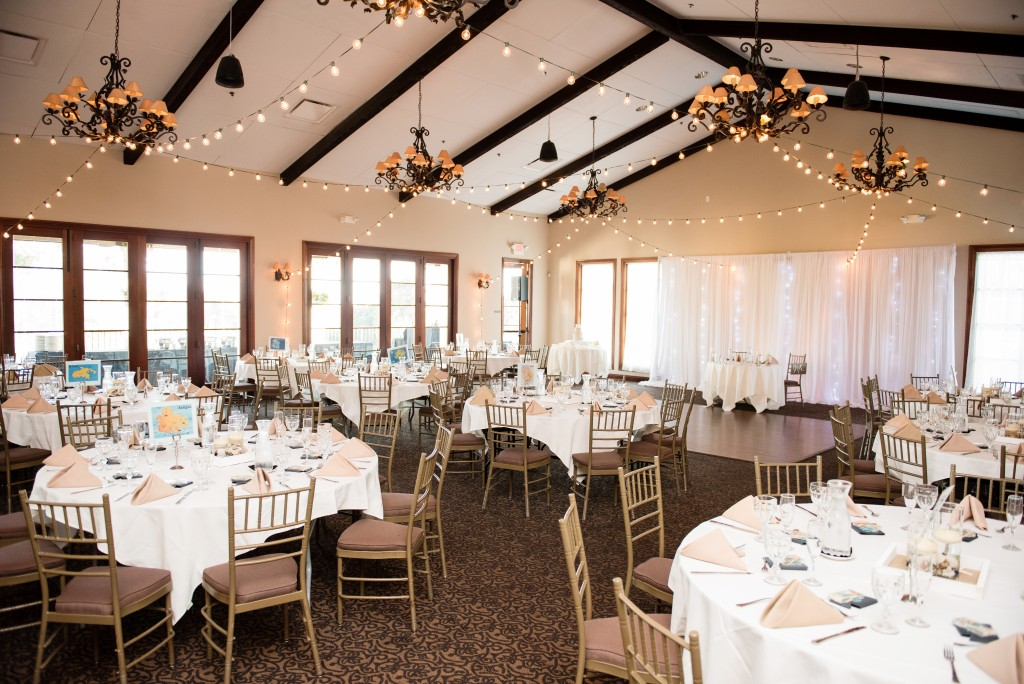 Orange County San Clemente wedding venue reception space