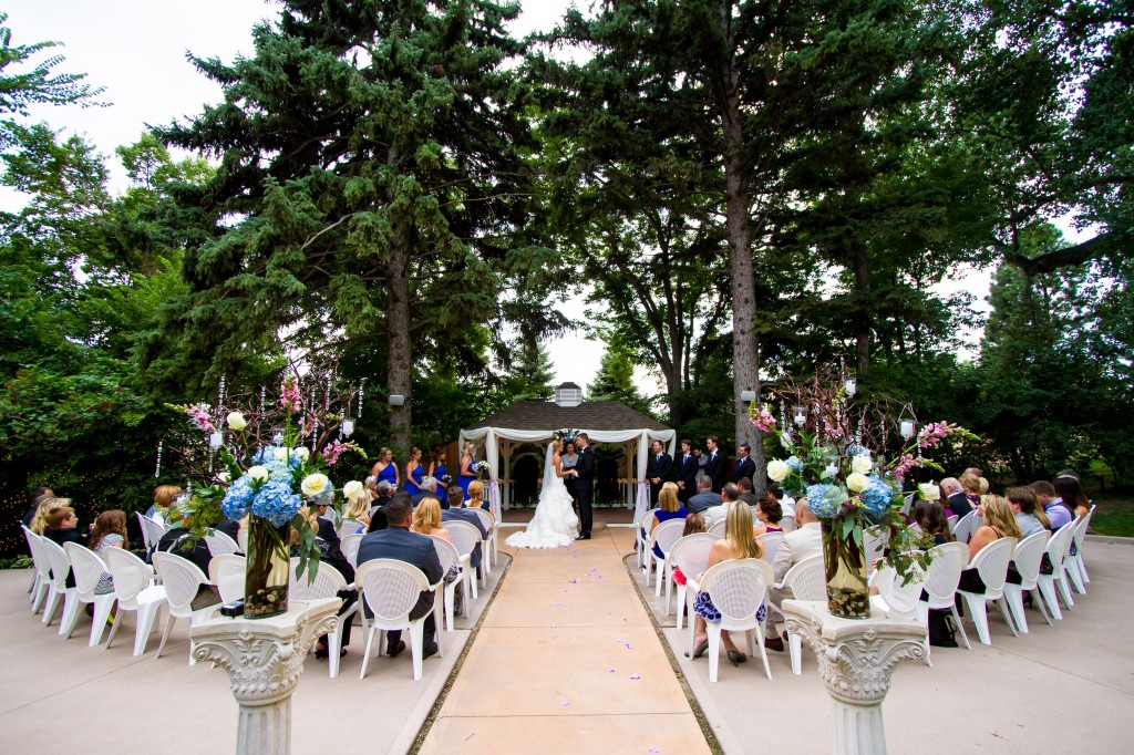 Tapestry House Outdoor Ceremony in Colorado
