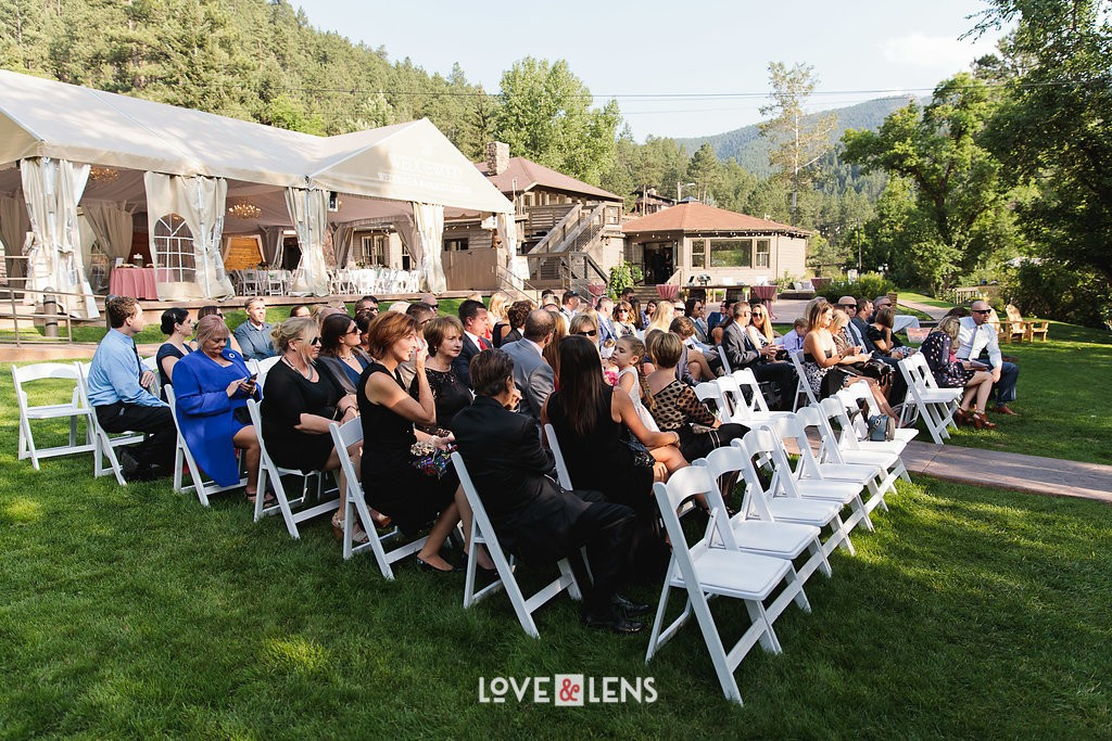 boulder creek wedding ceremony