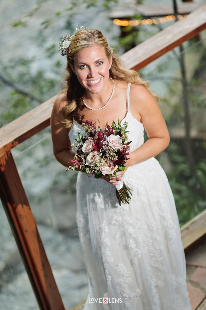 bride by boulder creek
