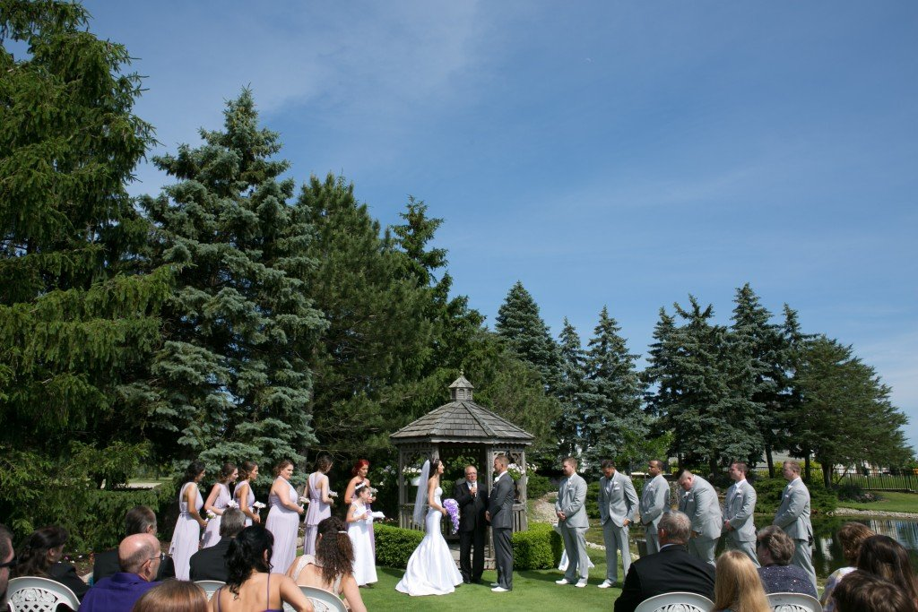Wedgewood Weddings North Shore ceremony