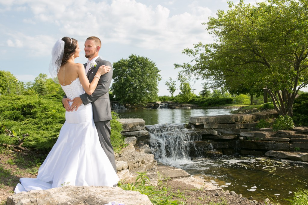 Wedgewood Weddings North Shore couple outside