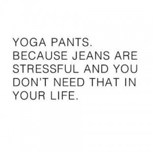 funny yoga pants wedding meme