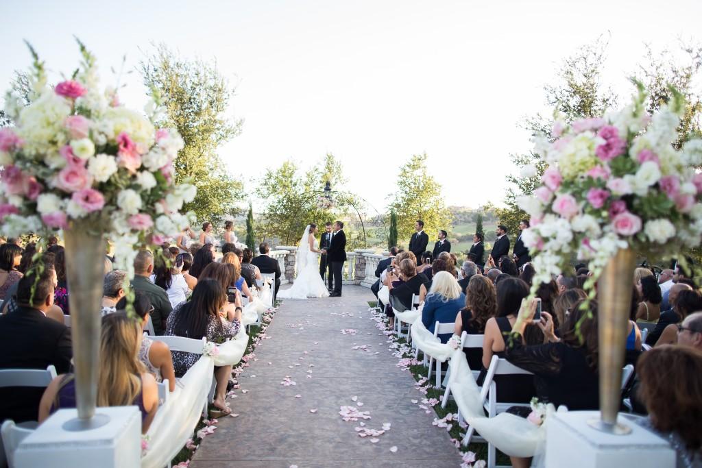 aisle decor ideas at Wedgewood Weddings