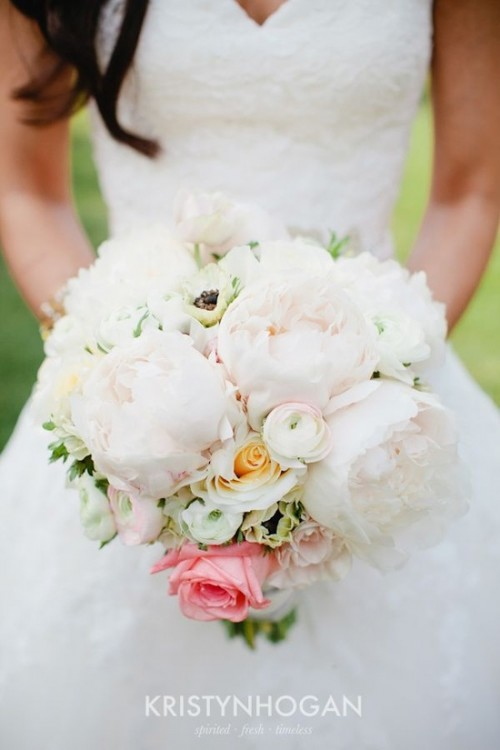 wedding blush bouquet