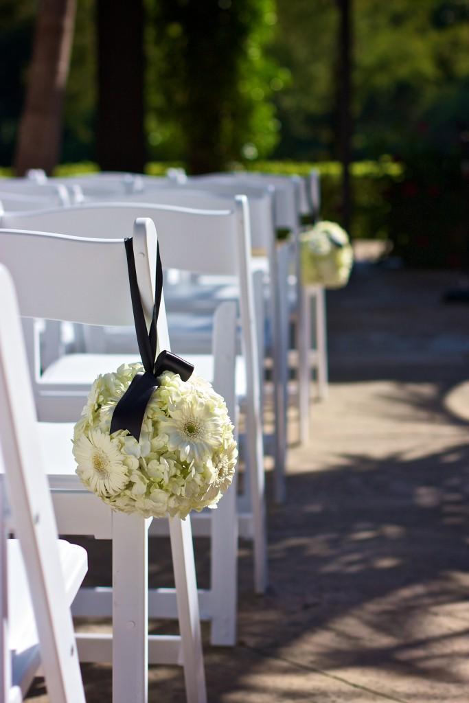 Wedgewood Weddings ceremony aisle décor