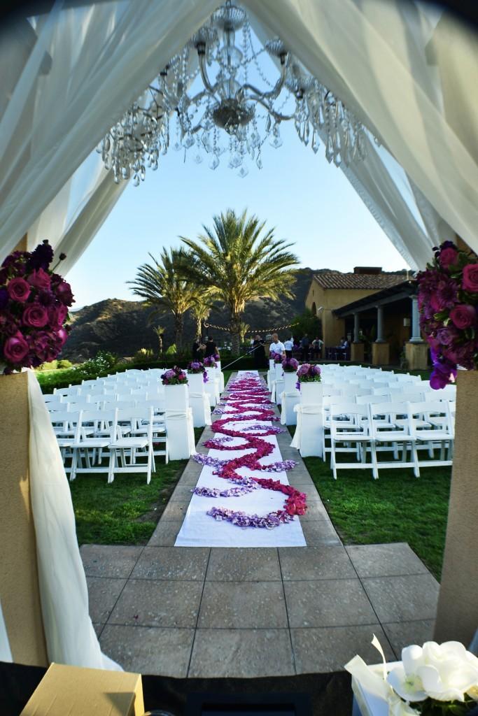 beautiful wedding ceremony venue