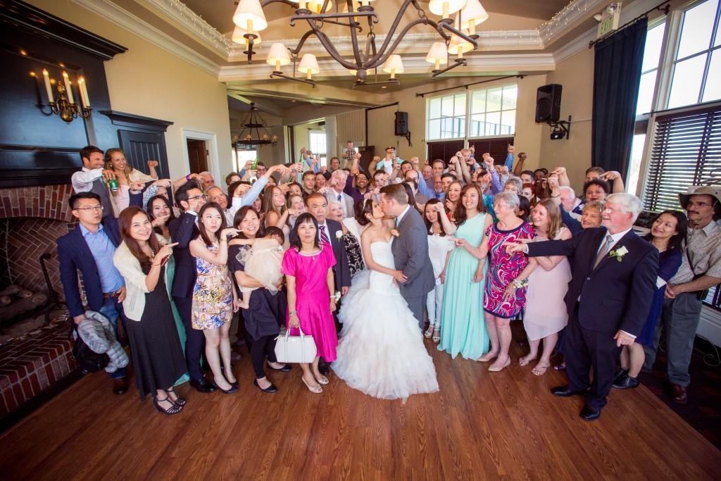 Wedgewood Weddings wedding venue group shot