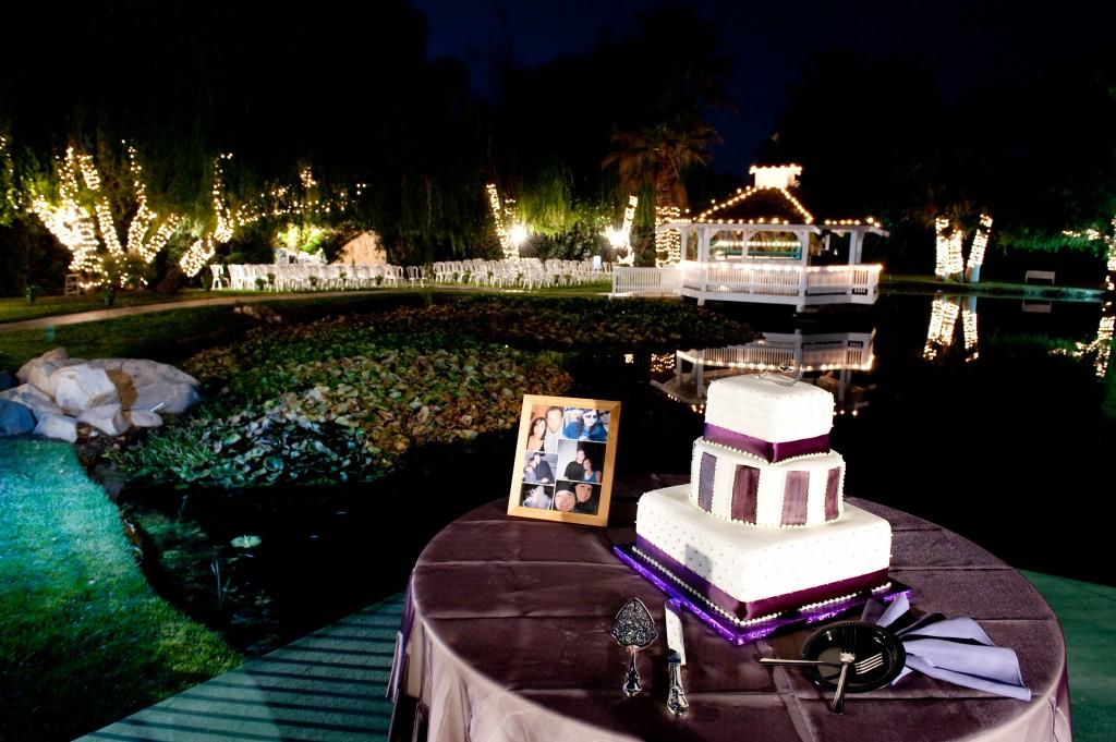 cake table ideas at Wedgewood Weddings