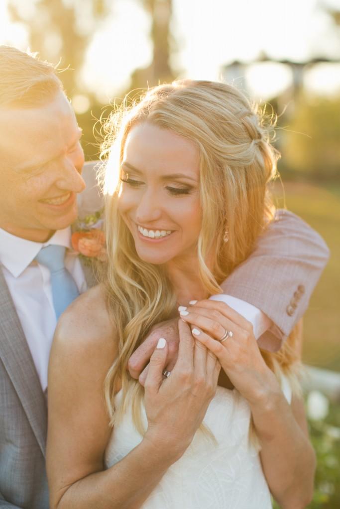 Jenna + Garett's Beach Town Wedding