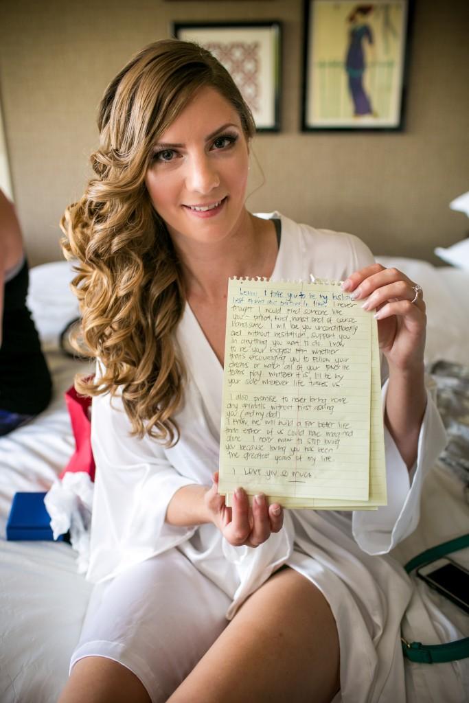 We love custom vows!