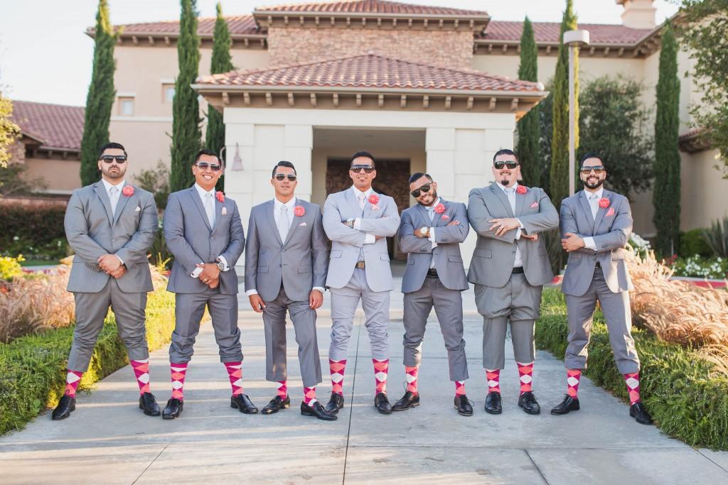 groomsmen matching socks at Vellano by Wedgewood Weddings