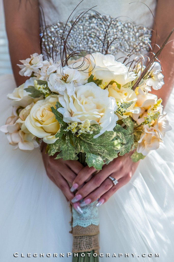 beautiful floral wedding bouquet