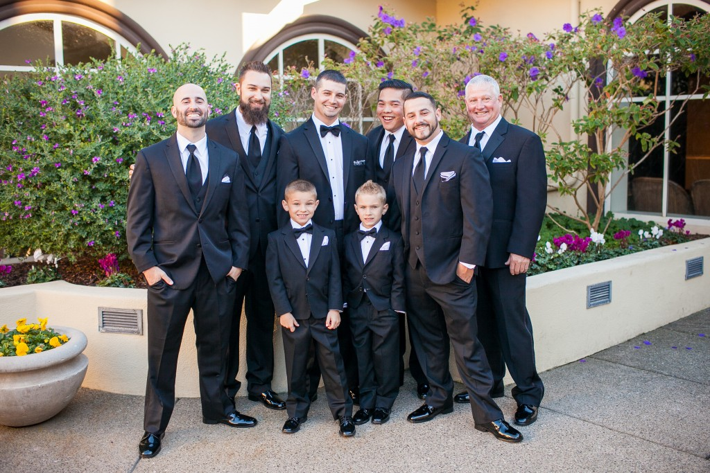 wedgewood weddings carmel venue groomsmen