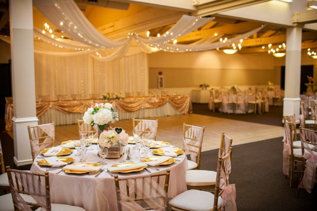 Carmel Wedding Venue Stunning Wedding Reception Décor
