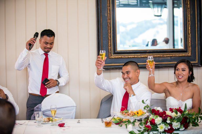 wedgewood weddings eagle ridge toast