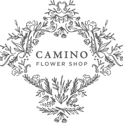 camino flower shop logo