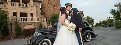 Military Discount provided by Wedgewood Weddings