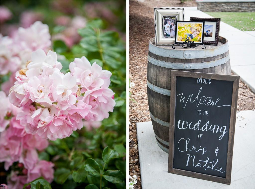 DIY wedding signs