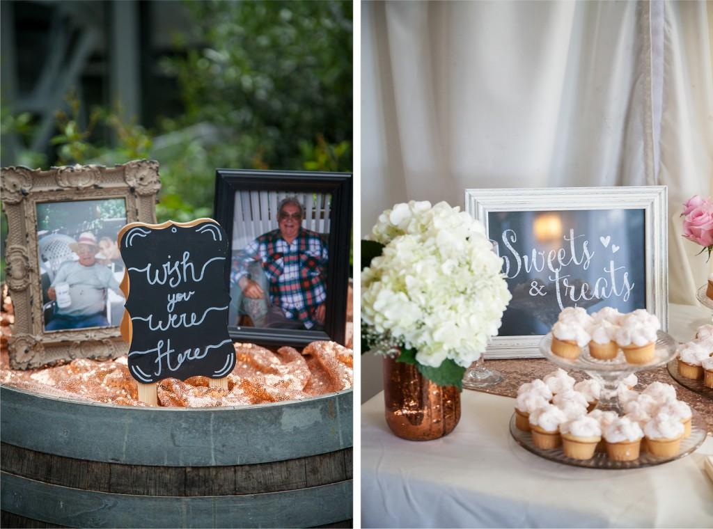 DIY wedding sweets signs