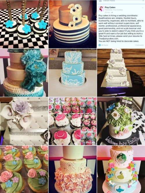 pixy cakes instagram photos