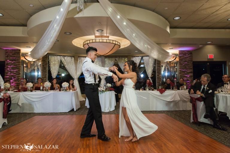 wedgewood wedding las vegas first dance