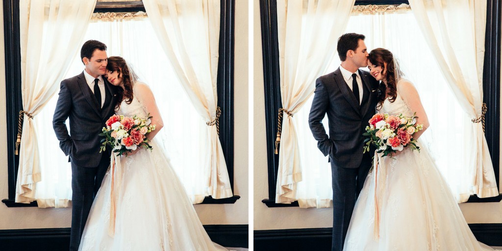 Vintage Sterling Hotel Sacramento Wedding