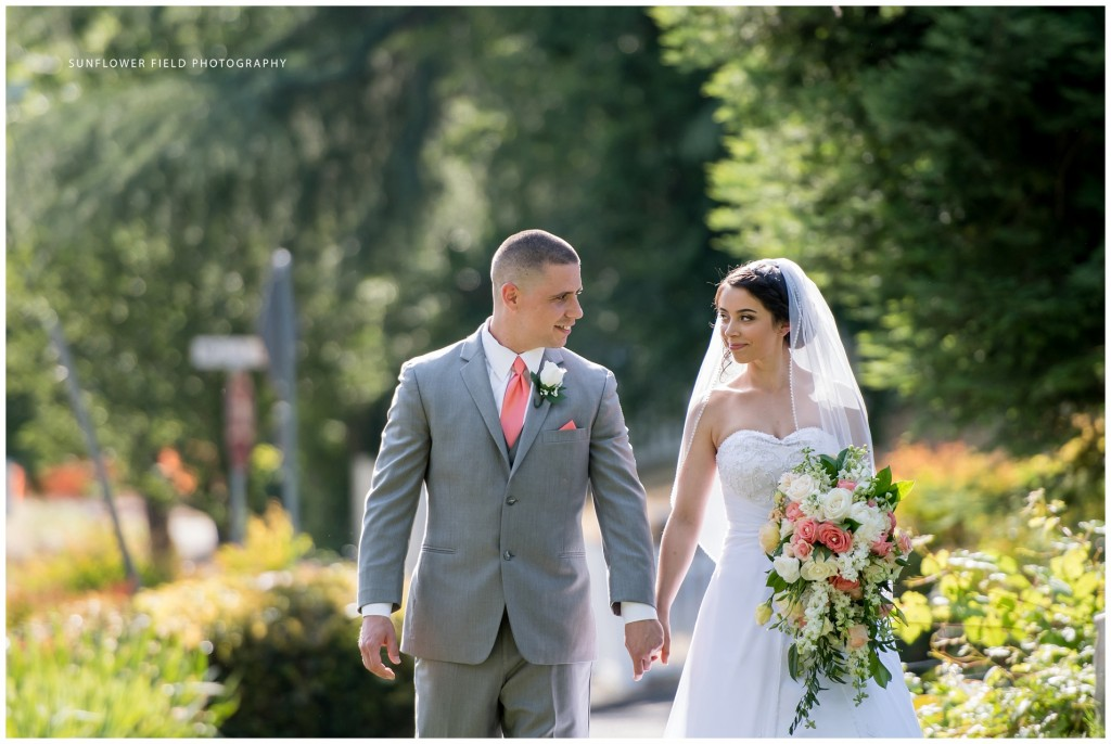 Wedgewood Weddings Sequoia Mansion bride and groom