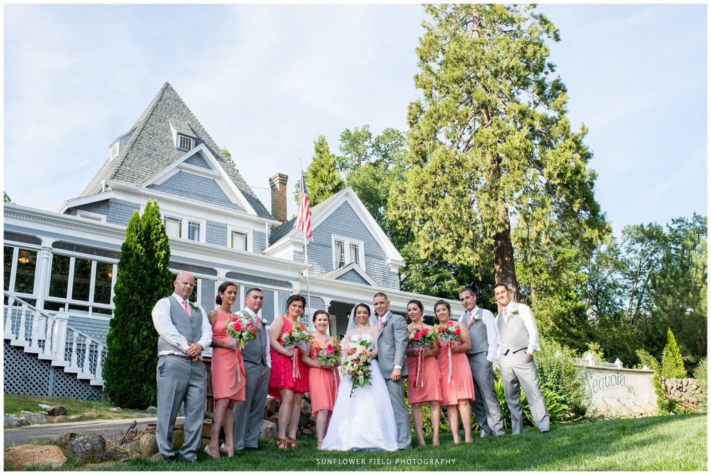 Gorgeous Wedgewood Weddings Sequoia Mansion