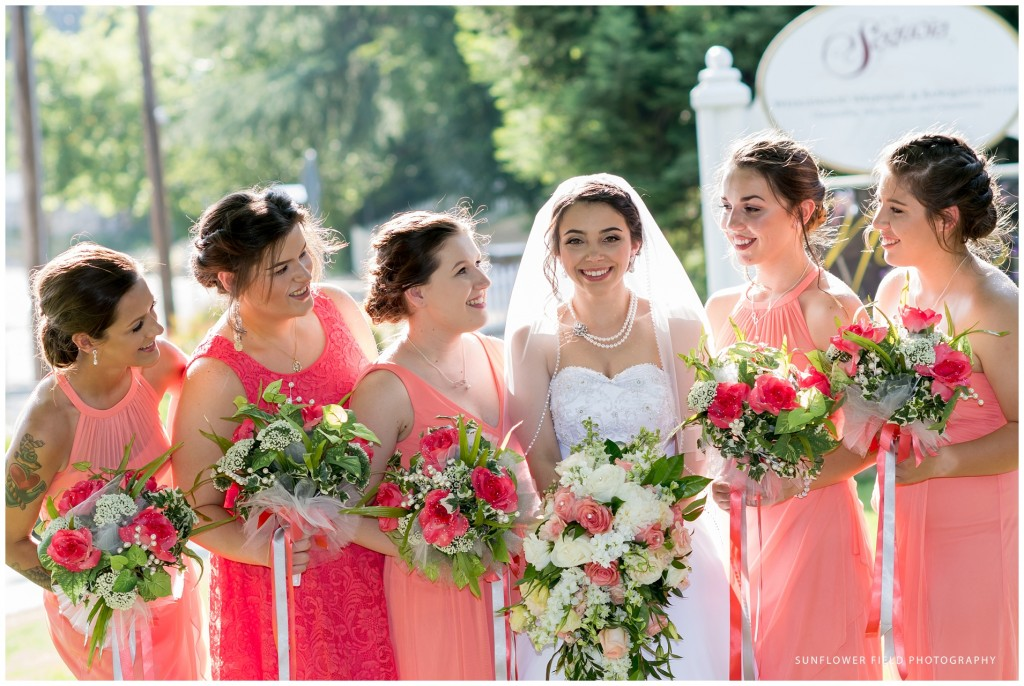 Wedgewood Weddings Sequoia Mansion bridal party