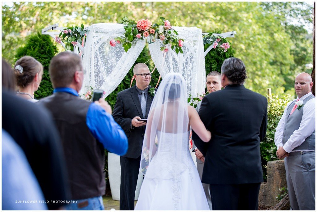 Wedgewood Weddings Sequoia Mansion ceremony