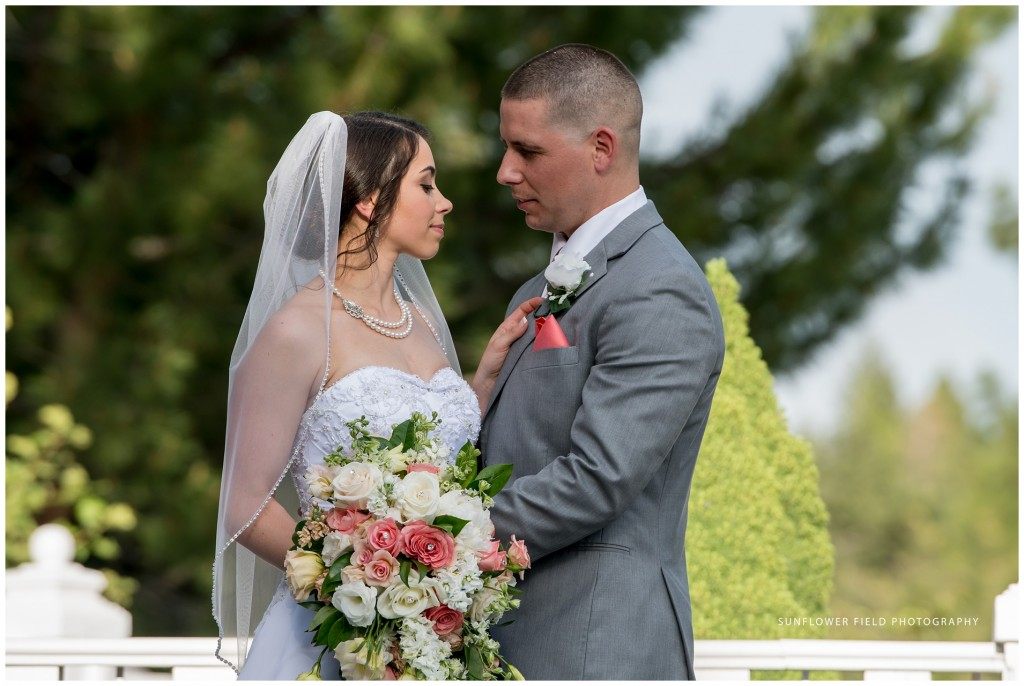 gorgeous Wedgewood Weddings Sequoia Mansion bride and groom