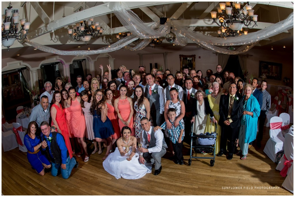 Wedgewood Weddings Sequoia Mansion group photo
