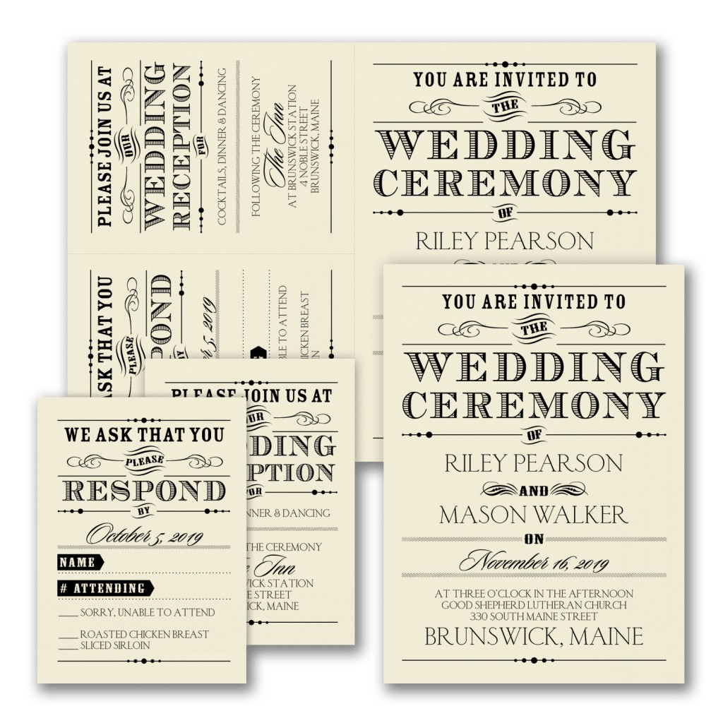 Wedding Invitations by Wedgewood Weddings