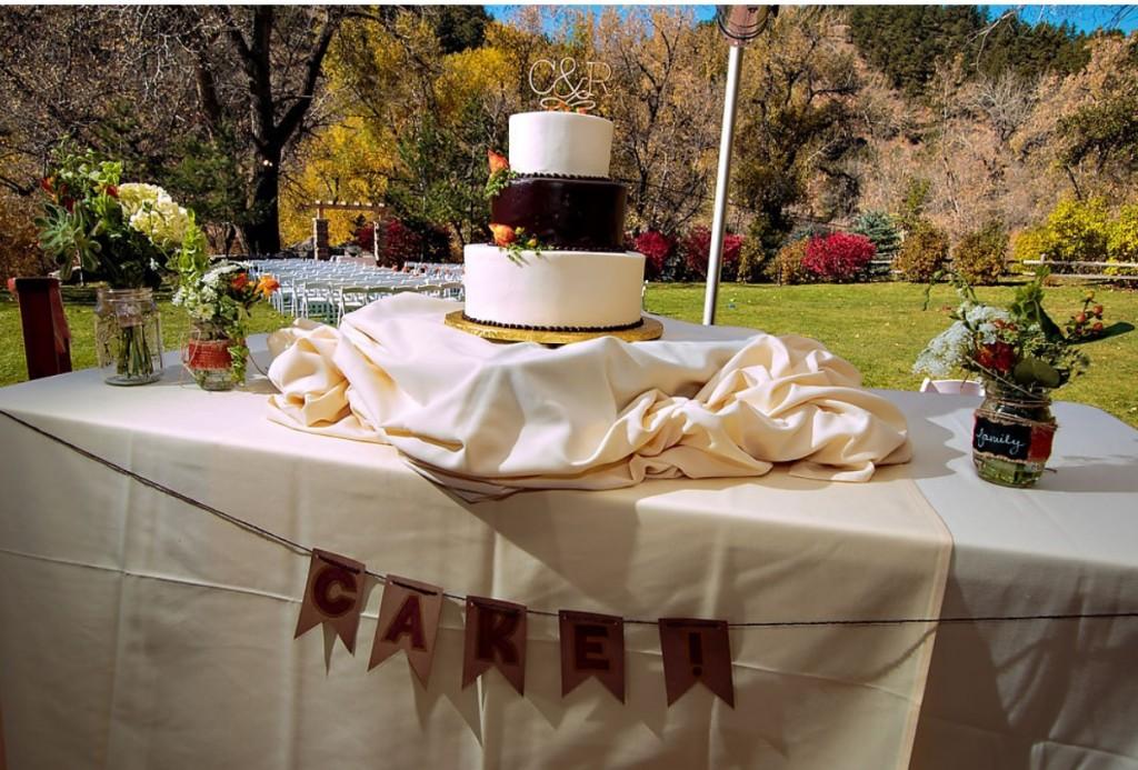 Wedgewood Weddings cake table