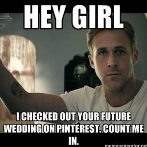 funny ryan gosling wedding meme