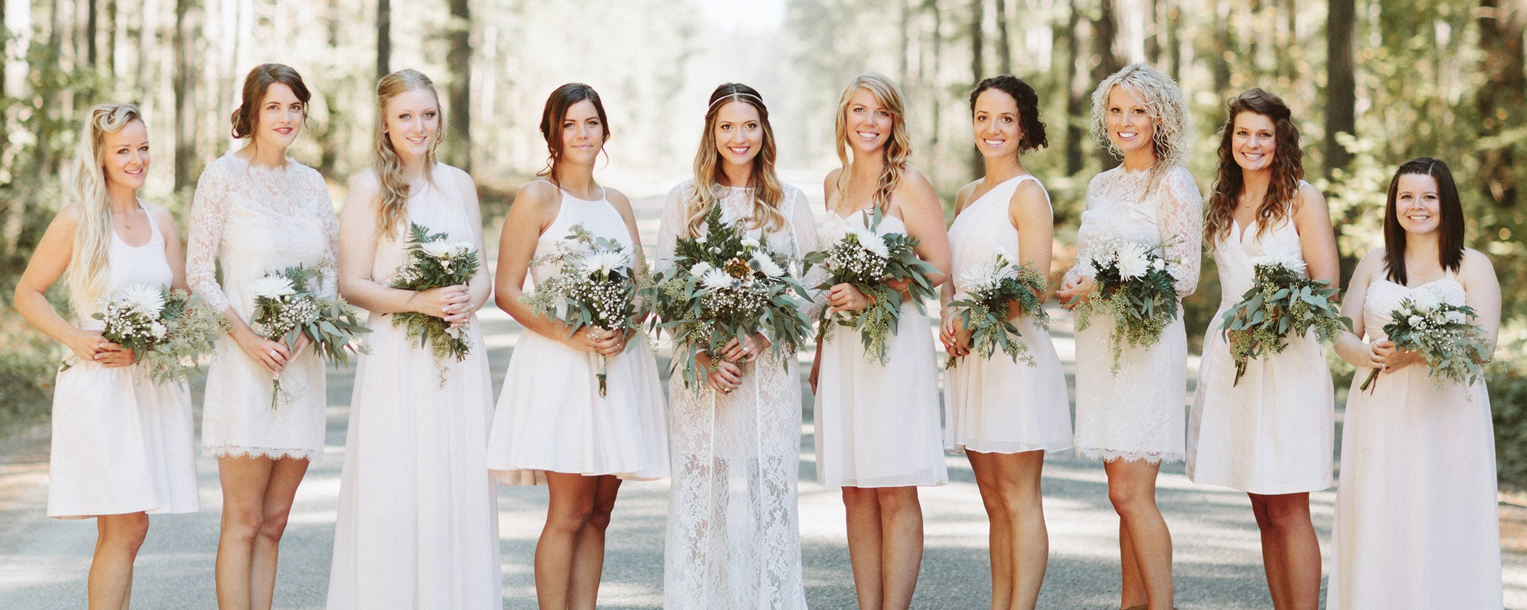 Wedgewood Weddings Bridesmaids Dresses and Attire - Weddington Way