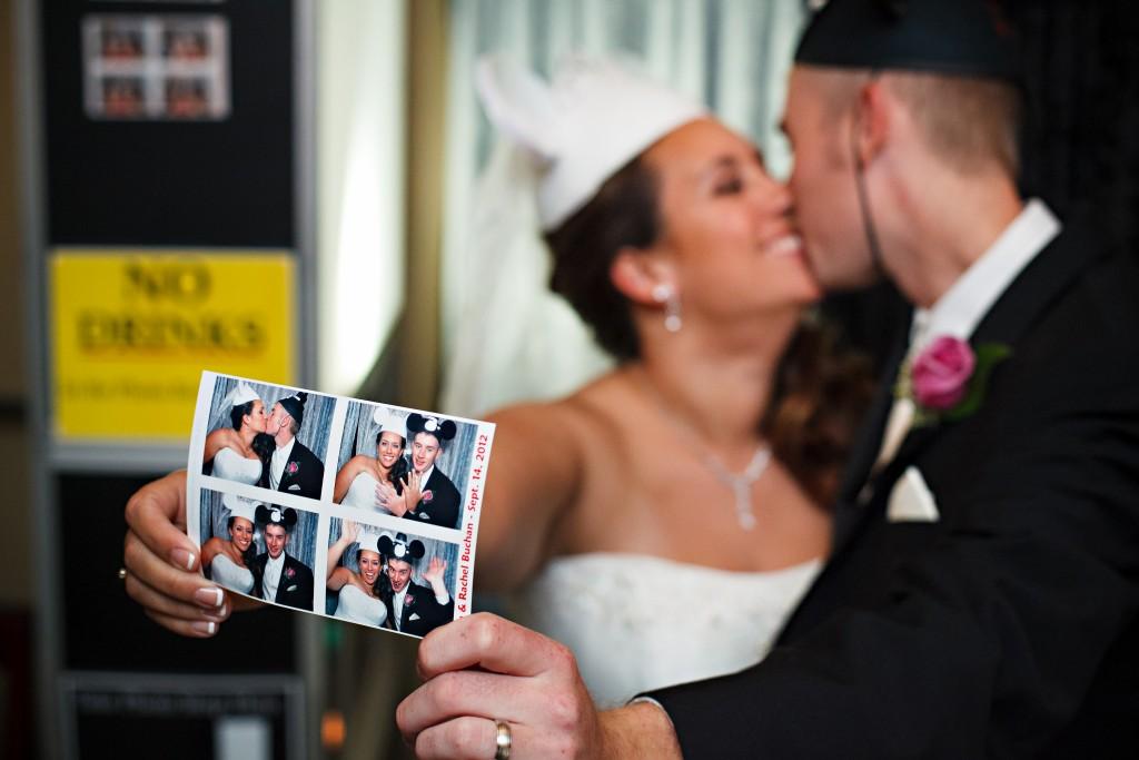 Disney wedding photobooth