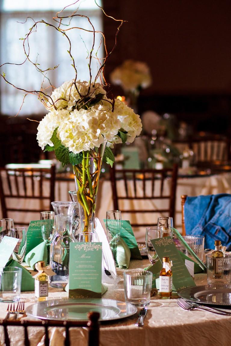 mint green wedding color scheme tablescape