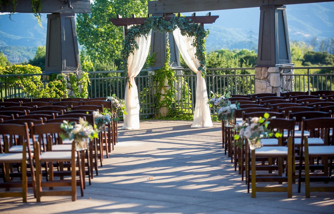 Rustic Ceremony Site - StoneTree - Novato, California - Marin County - Wedgewood Weddings