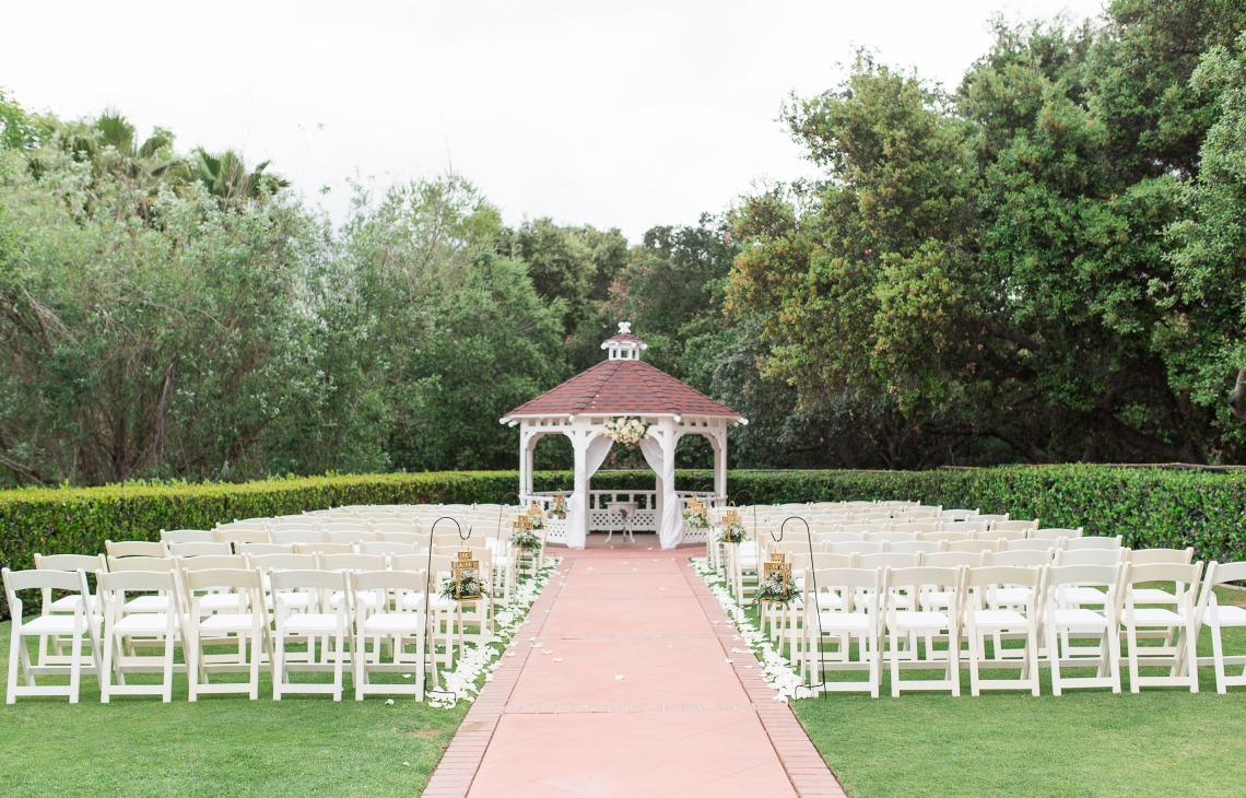 Garden Ceremony Site - Sierra La Verne - La Verne, California - Claremont Area - Los Angeles County - Wedgewood Weddings