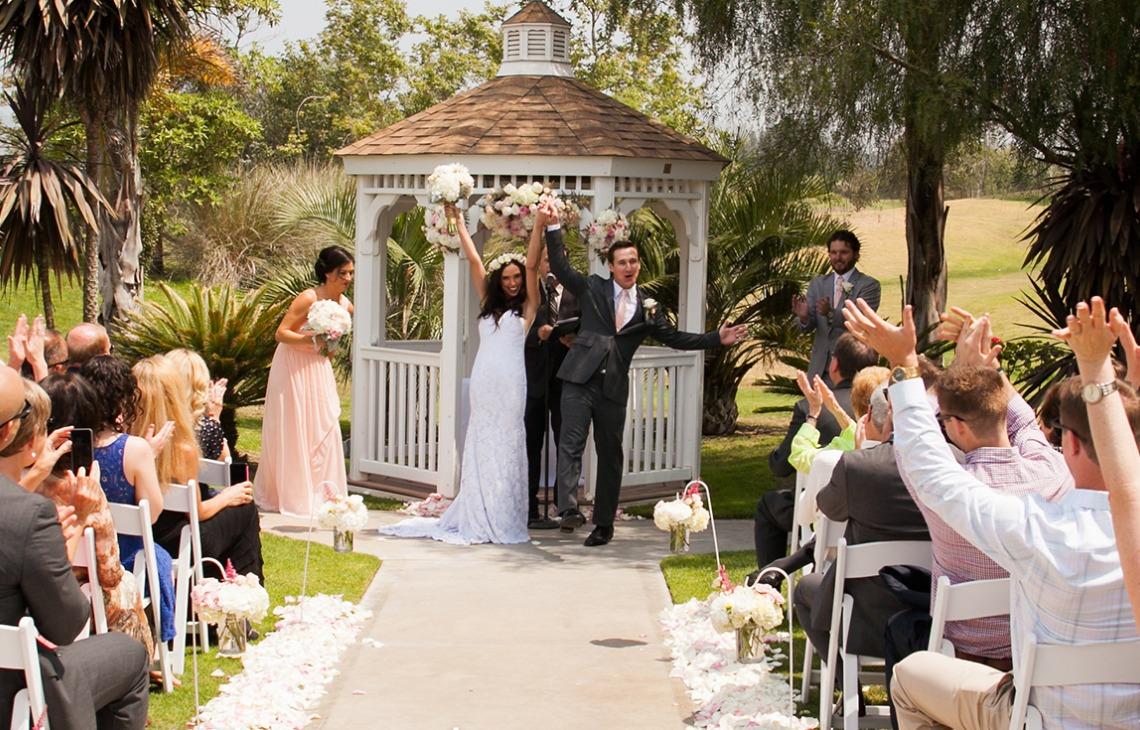Ceremony celebration - Sterling Hills - Camarillo, California - Ventura County - Wedgewood Weddings