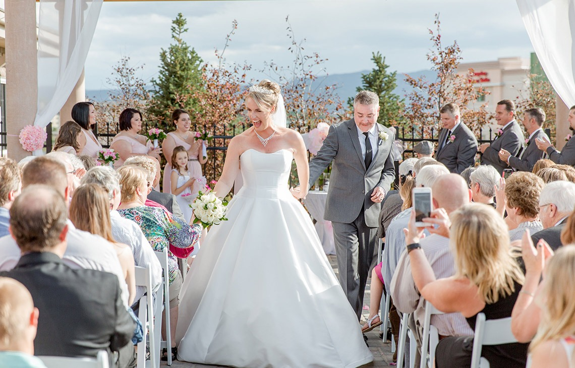 Wedding ceremony - Ashley Ridge - Littleton, Colorado - Arapahoe County - Wedgewood Weddings